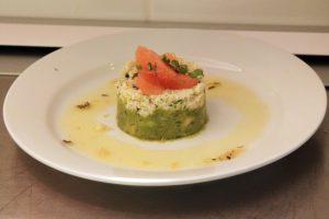 recette printemps verrine avocat/crabe/pamplemousse save eat