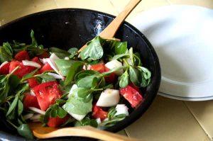 recette salade pourpier save eat