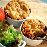 crumble de ratatouille recette anti-gaspi Save Eat
